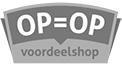 logo op is op voordeelshop